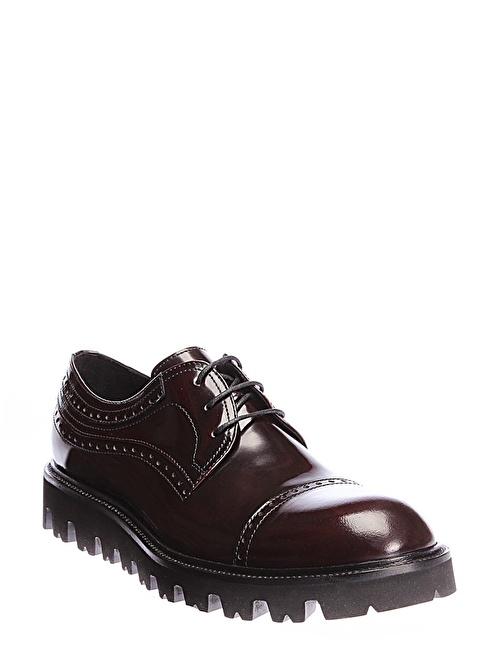 İnci Oxford Ayakkabı Bordo